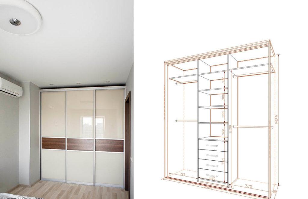 проект шкаф-купе 15