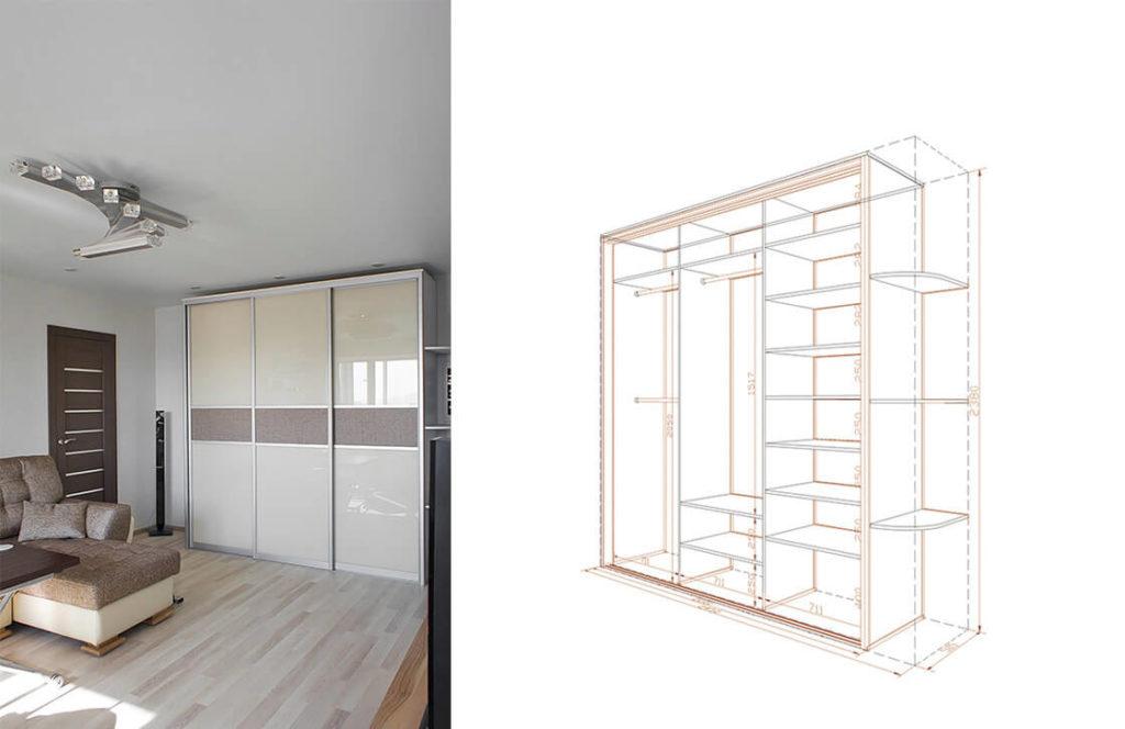проект шкаф-купе 2