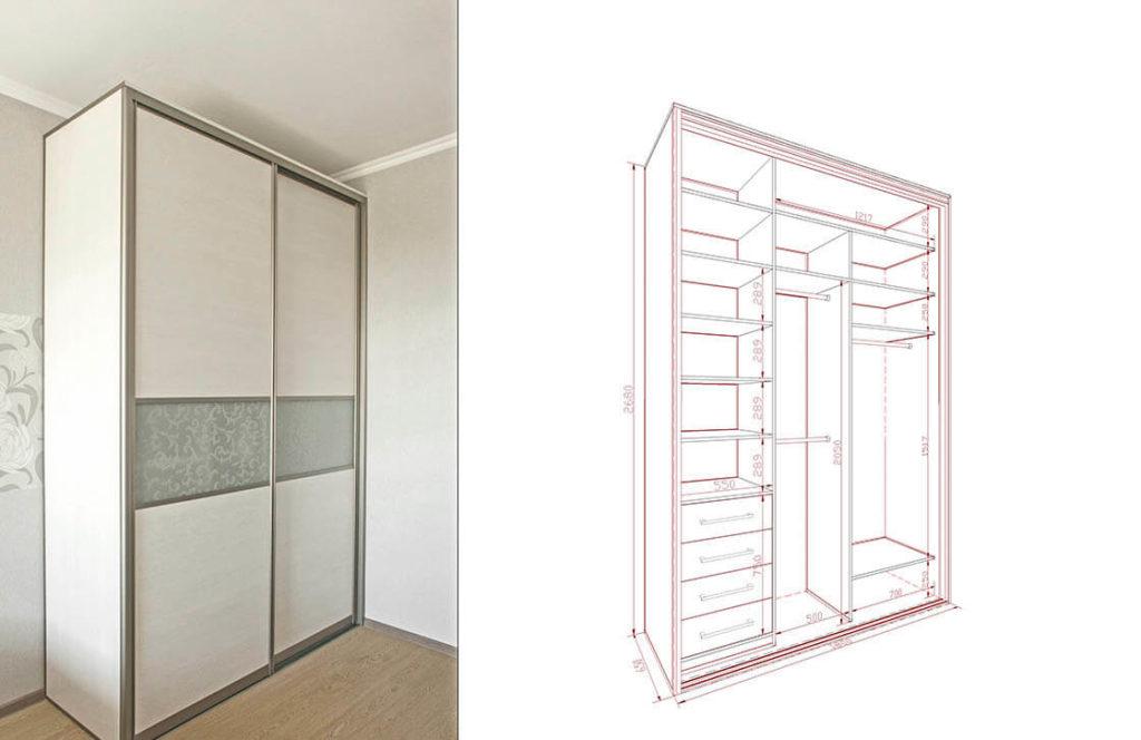 проект шкаф-купе