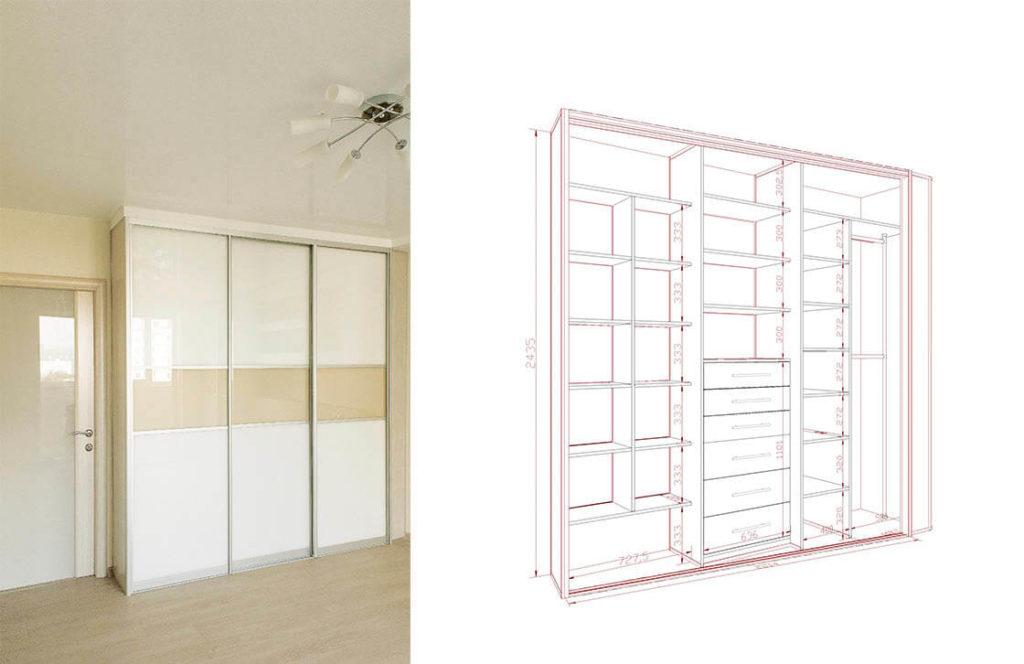 проект шкаф-купе 9