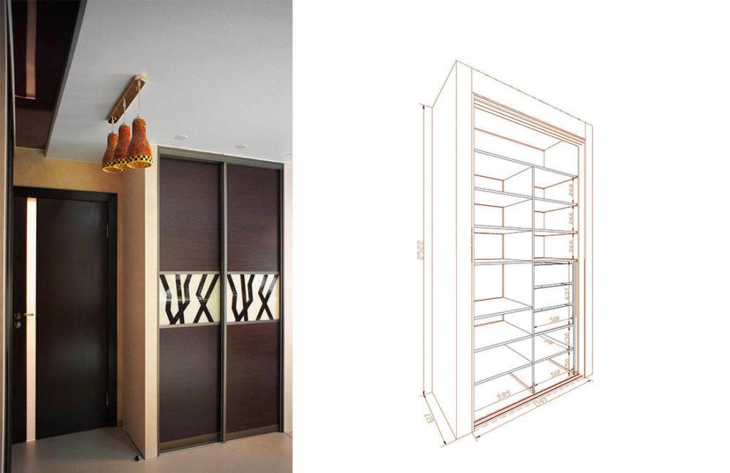 проект шкаф-купе 10