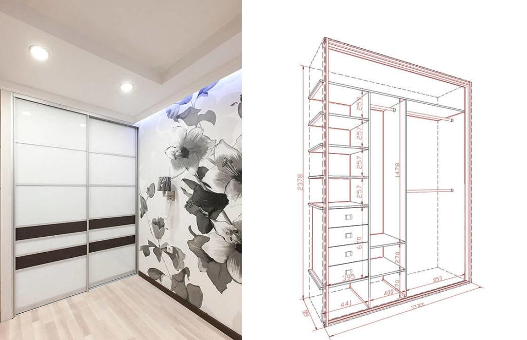 проект шкаф-купе 8