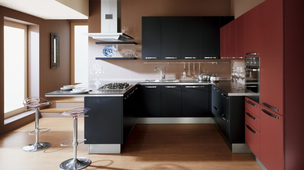 стиль модерн кухня