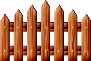 Забор вектор