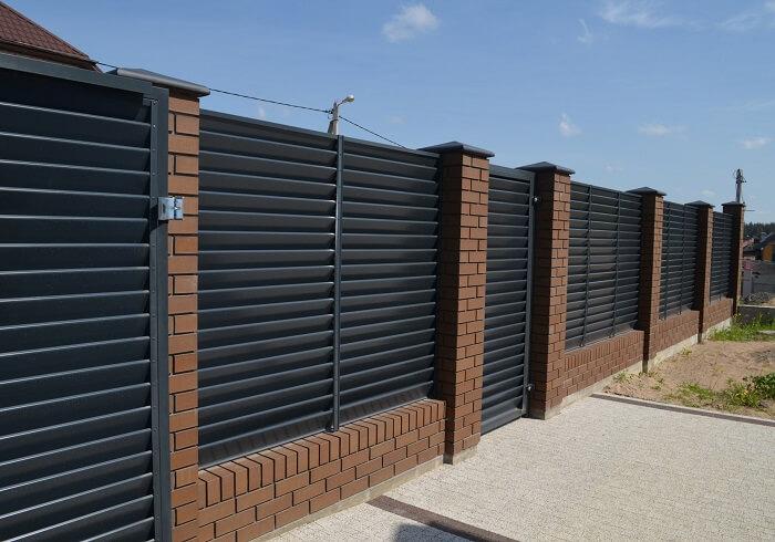 Забор Жалюзи фото